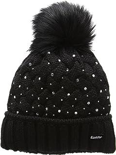 Eisbär Damen Alice Lux Crystal Mütze AF schwarz One Size Eisbär (EBAR5) 80016