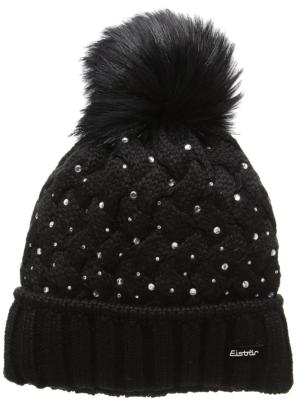 Cappello Eisb/är Cappello delle signore orso Eden Lux cristallo con finto pon pon di pelliccia selezione di colore