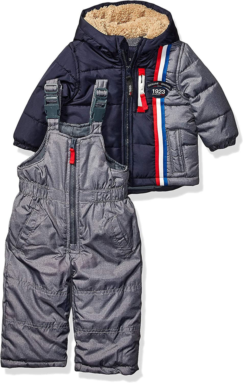 2t gray London Fog Toddler Star Print 2-Piece Snowsuit