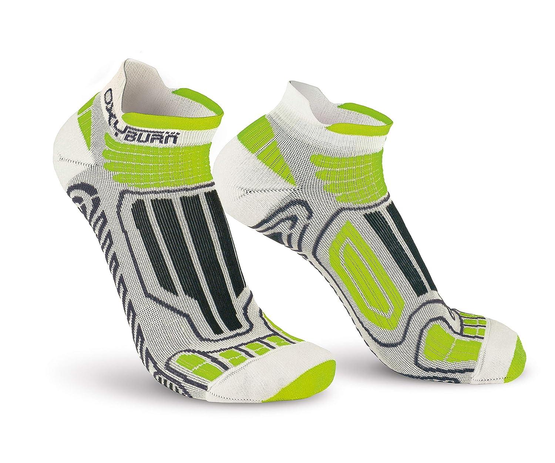 Calze Uomo OxyBurn Running Low-Cut Dry-Tech Carbon XL