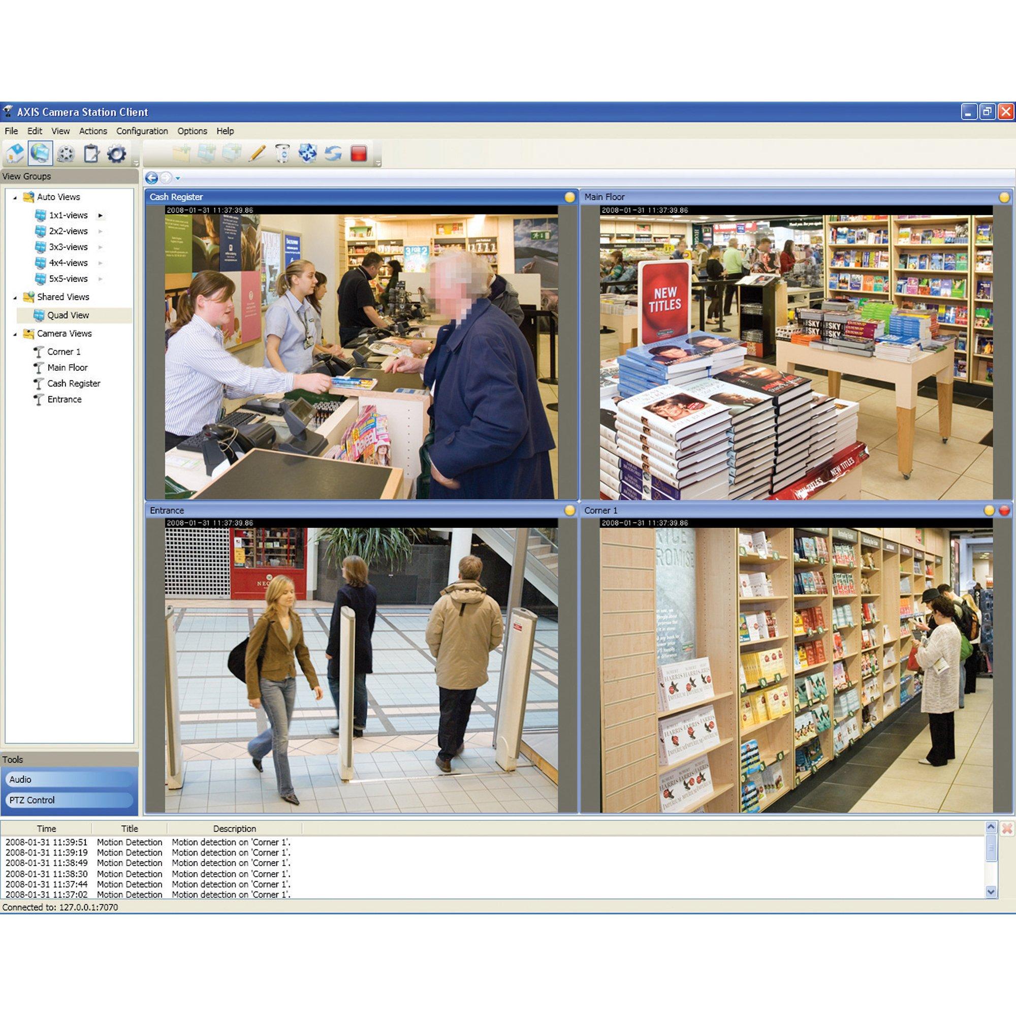 Axis 0202004 Camera Station 10 Camera Base License