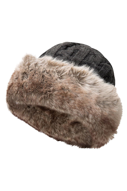 Mountain Warehouse Sombrero de Pelo para Mujer Gris Talla única 022036024001 15c971a768e
