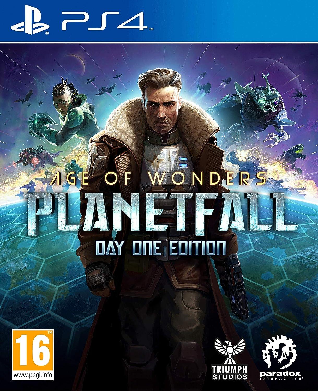 Koch Media Age of Wonders: Planetfall Day One Edition, PS4 vídeo - Juego (PS4, PlayStation 4, TBS (Turn Estrategia de Base), Modo multijugador, T (Teen)): Amazon.es: Videojuegos
