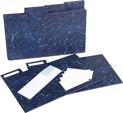 Divisores rígidos INDEX57PKBLUE para álbum de fotos para cajas de ...