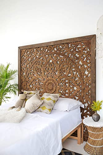 Super King Sized Carved Headboard