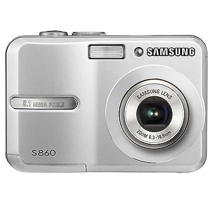 amazon com samsung s860 8 1mp digital camera with 3x optical zoom rh amazon com Silver Samsung S860 Memory Card Samsung S860