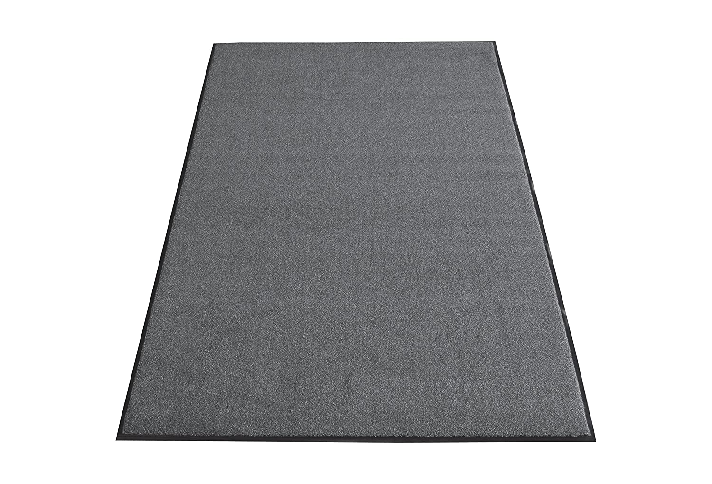 Miltex 31051 Schmutzfangmatte Olefin, 122 x 244 cm, grau