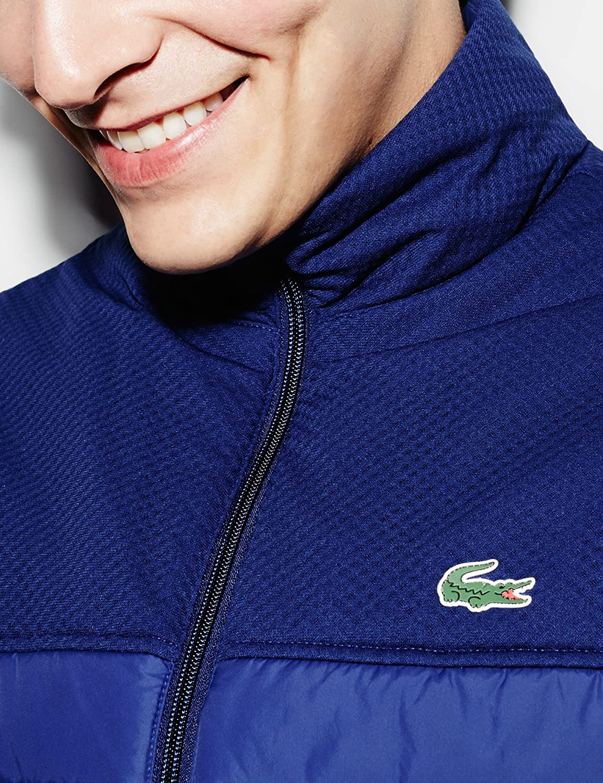 a66bb2a7bf Gilet Lacoste Sport Tennis Bleu 52 Bleu: Amazon.fr: Vêtements et accessoires