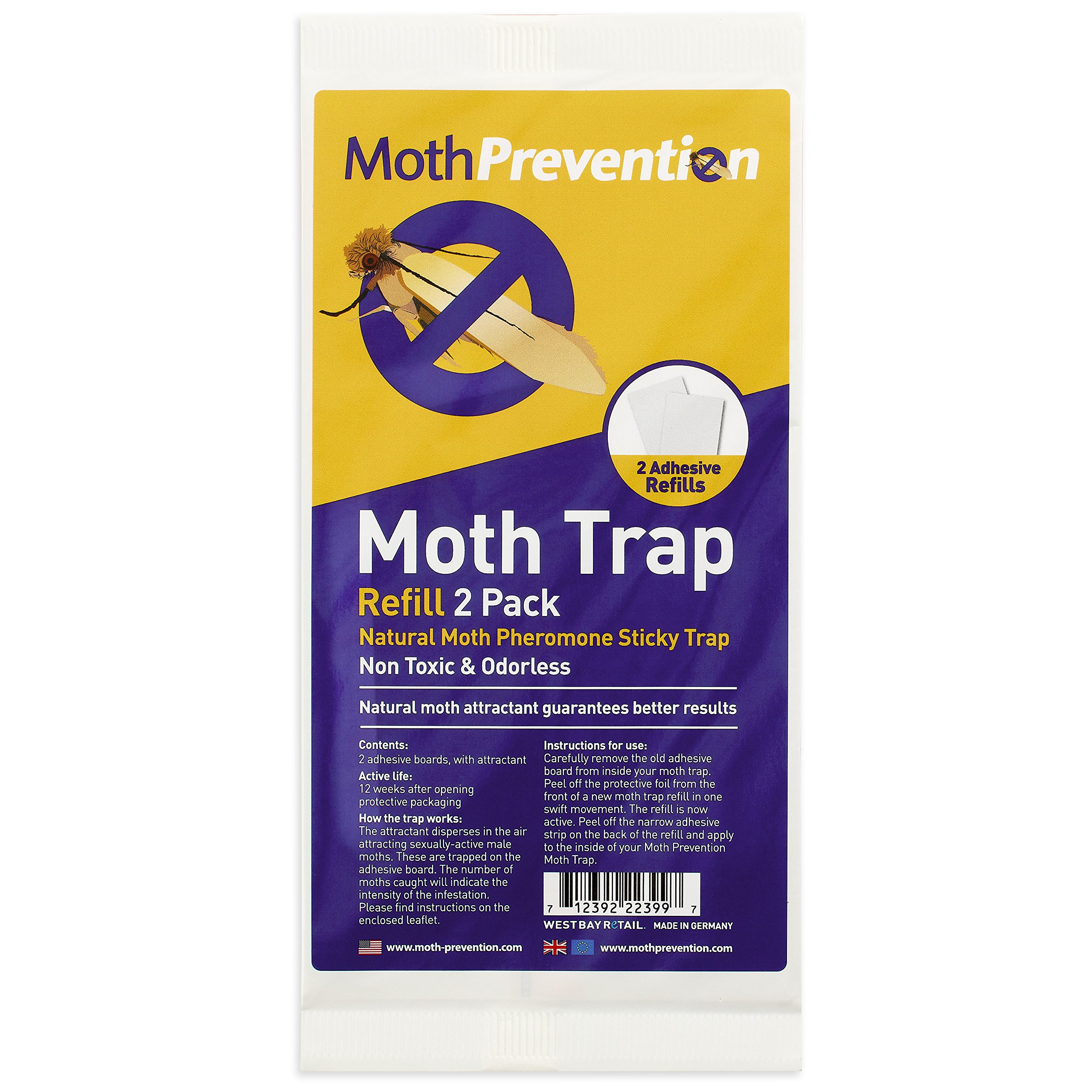 MOTH KILLER KIT for Clothes Moths & Carpet Moths by Moth-Prevention - EXTREME POWER! by West Bay Retail (Image #6)