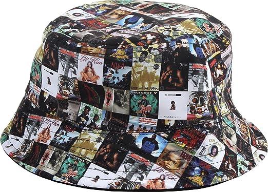 09912da33b3 Famous Stars and Straps - Mens Album Collage Rev Bucket Hat
