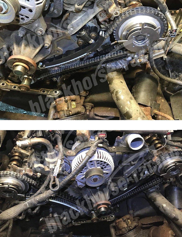 Camshaft Variable Valve Timing Solenoid VCT for 04-10 Ford F-150 Expedition 4.6L 5.4L Replaces# 3L3Z6M280EA 8L3Z6M280B 2 Solenoids /& Cam Seal 8L3Z6M280A