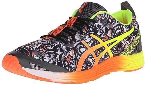 ASICS Men's Gel-Hyper Tri 2-M, Black/Hot Orange/Flash Yellow, 10 M ...