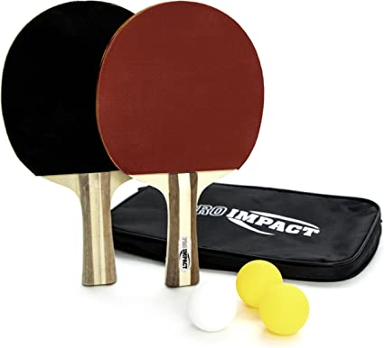 Table Tennis Ping Pong Set 2x Paddle Bats /& 3Balls Extending Net Portable~