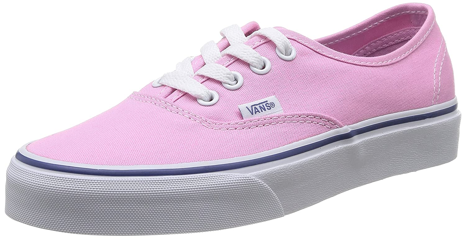 Vans Unisex-Erwachsene Authentic Low-Top  42 EU|Pink (Prism Pnk/Trwht 2w0)