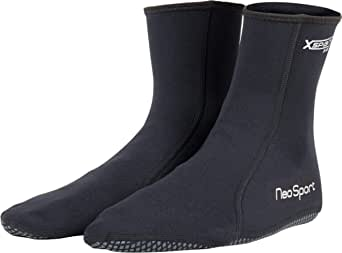 NeoSport Exclusive Mens and Women's XSPAN Sock Available in 1.5MM or 5MM – Warm, Ideal for Surf Fishing, Water Sports and Hunting, Wear Alone or With Shoes and Boots