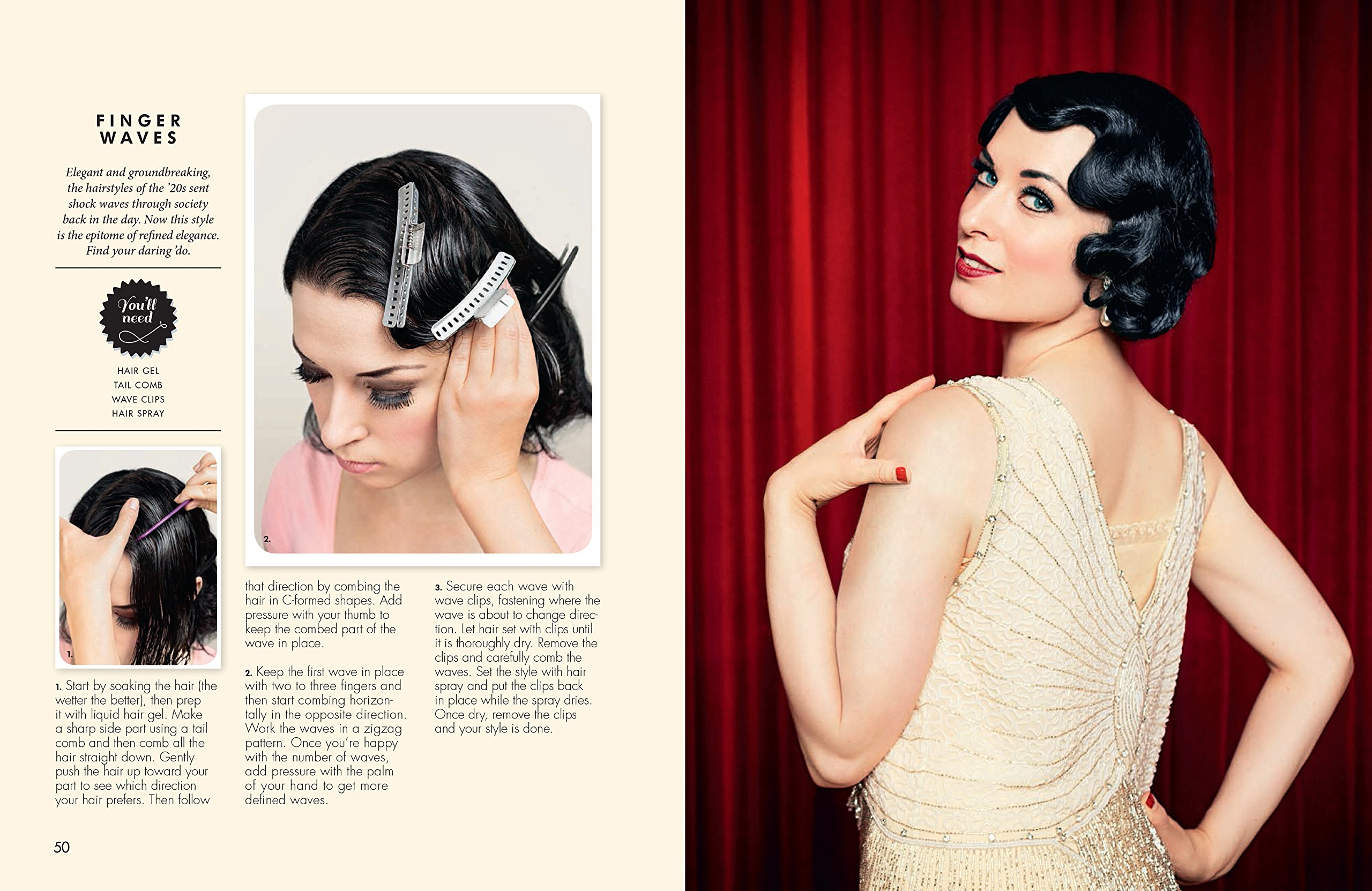 Vintage Hairstyles: Simple Steps for Retro Hair with a Modern Twist ...