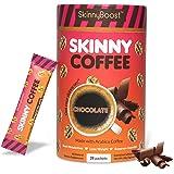 Skinny Boost Skinny Coffee- (Chocolate Flavored) Instant Slimming Coffee Blend Made with premium Arabica Coffee, Garcinia Cam