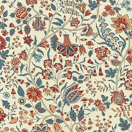 Möbelstoff Dekostoff Bezugsstoff • Blumen • Renaissance