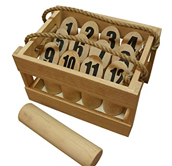 Amazon.com : Yard Games Scatter Outdoor Game : Croquet Sets ...