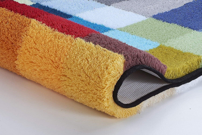 Multicolore Kleine Wolke Tappeto da Bagno 8821148135/Cubetto poliacrilico 60/x 60/XC3/cm