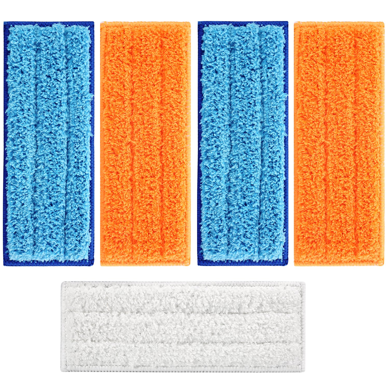 isinlive 5 Packs Washable Mopping Pads Compatible Robot Braava Jet 240 241