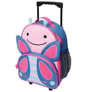 Skip Hop Zoo enfants bagages à roulettes (Papillon)