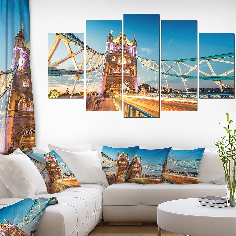 Tower Bridge London Canvas Wall Art Picture Print Beautiful Pretty Home Decor