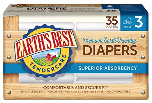 Earth's Best Chlorine-Free Diapers Review