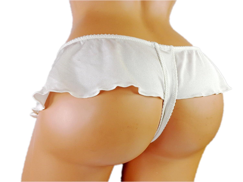Short skirts and thongs