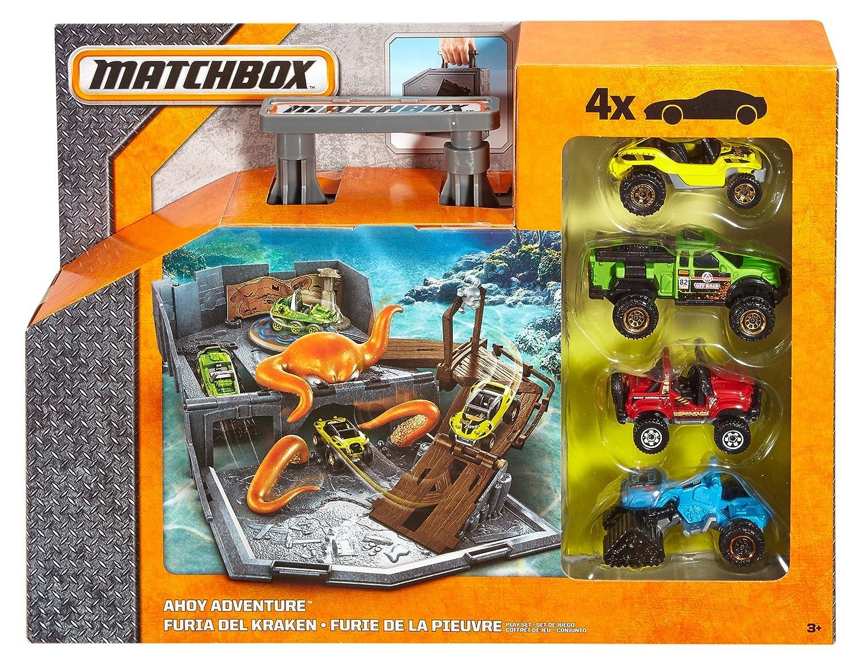 Amazon.com: Matchbox Ahoy Adventure Mini Playset: Toys & Games