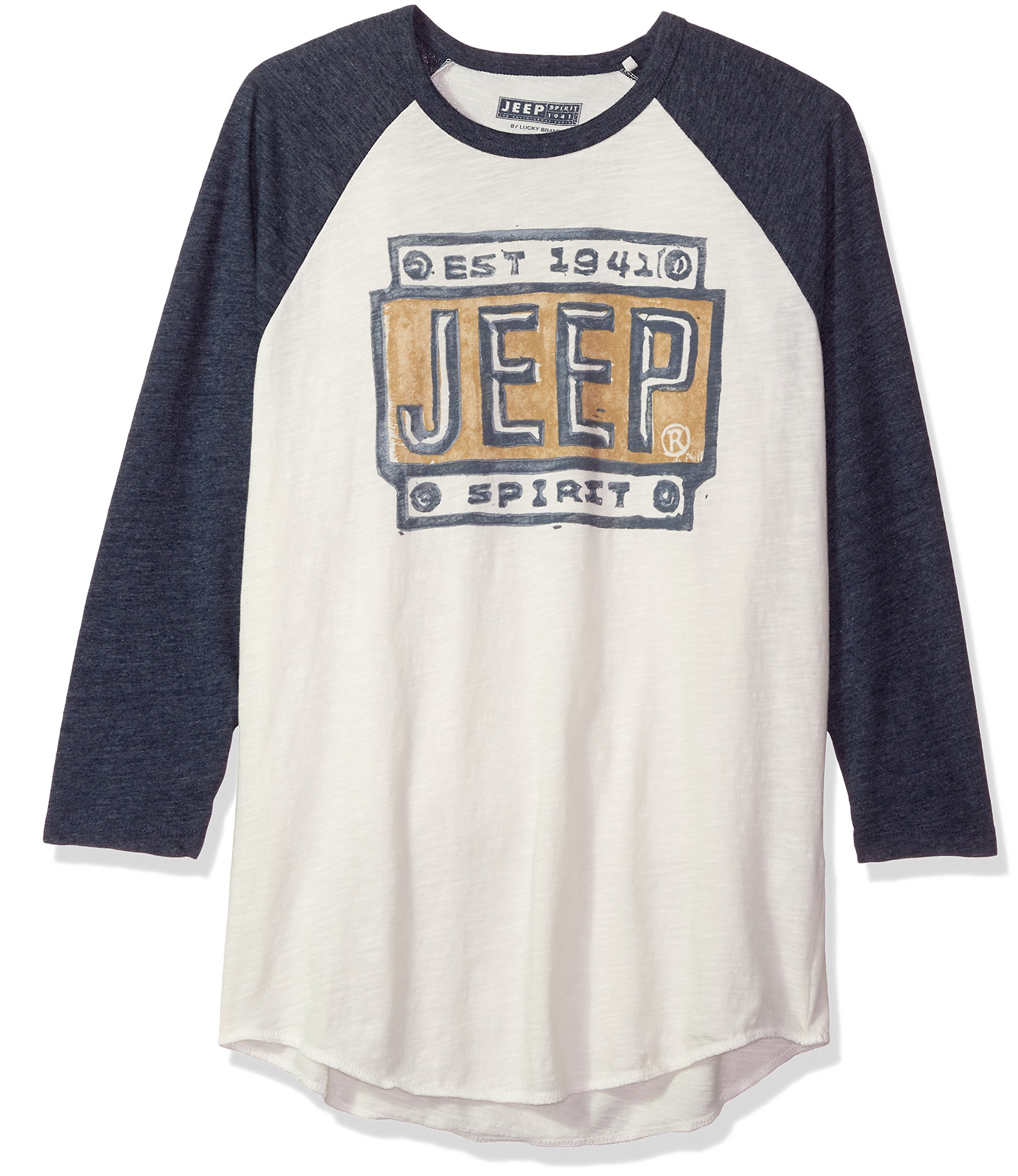 Lucky Brand Men's Jeep Graphic T-Shirt, Multi, M