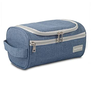 17505b29e8 Amazon.com   Pantheon Toiletry Organizer Wash Bag Hanging Dopp Kit Travel  for Bathroom Shower   Beauty