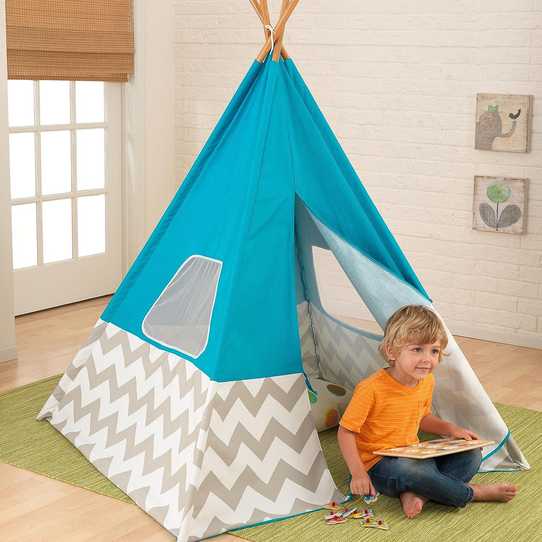 Amazon KidKraft Teepee Tent Turquoise Toys & Games