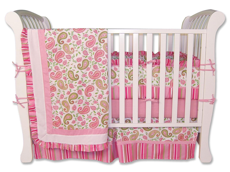 Trend Lab Park Paisley Park 4 Trend Piece Lab Crib Set by Trend Lab B0013L3NOU, 綾瀬家具:8ca344fd --- ijpba.info