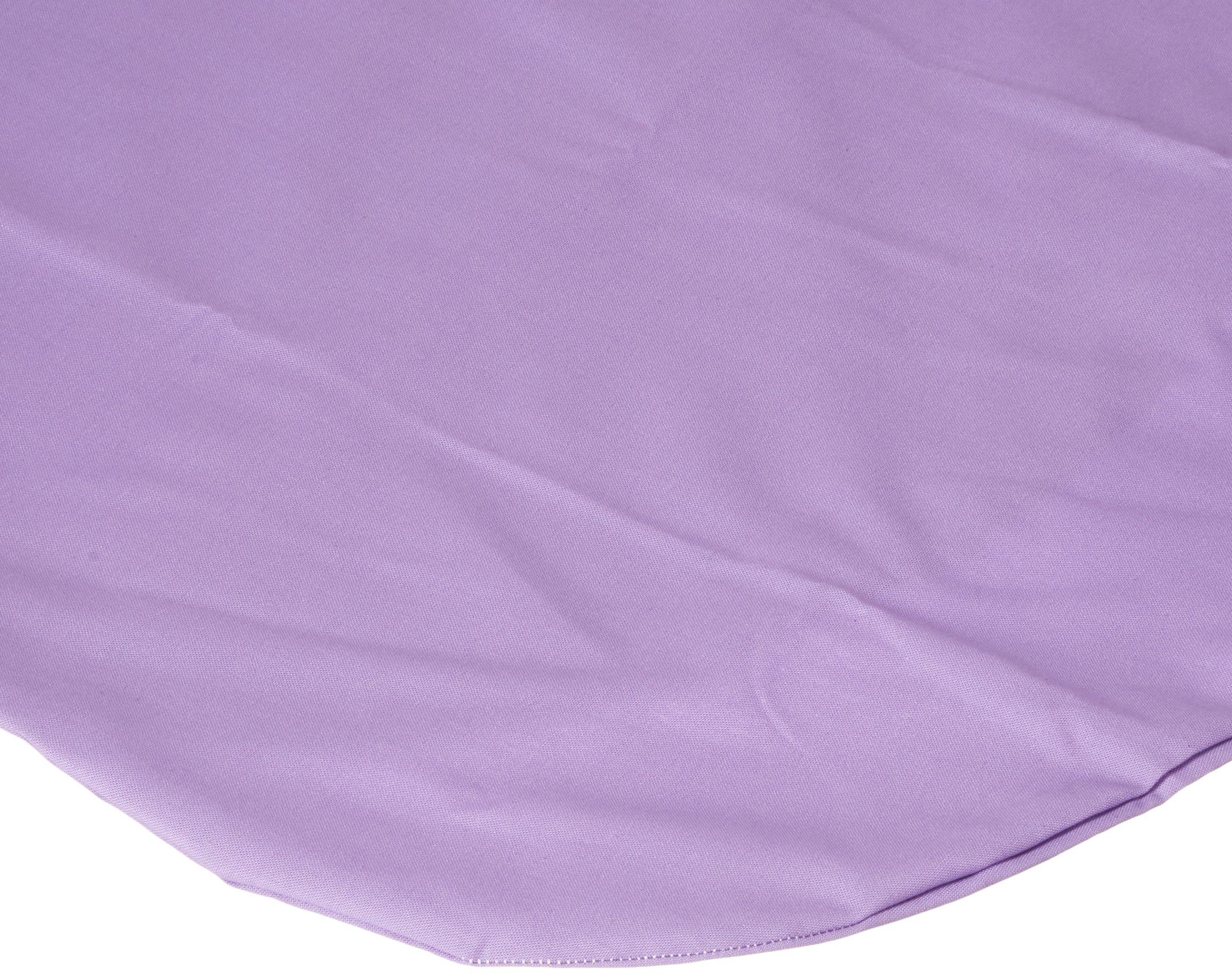 SheetWorld Fitted Bassinet Sheet (Fits Halo Bassinet Swivel Sleeper) - Solid Lilac Woven - Made In USA