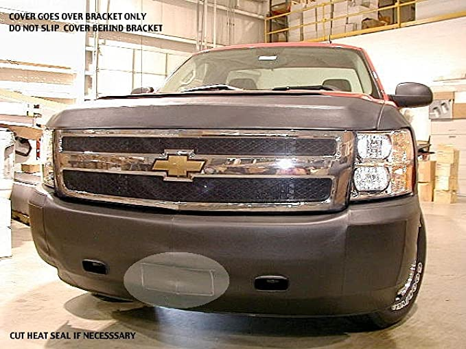 Lebra 2 piece Front End Cover Black Without Park Assistant 2015-2016 Chevy Tahoe /& Suburban Fits with or without Towhooks Car Mask Bra
