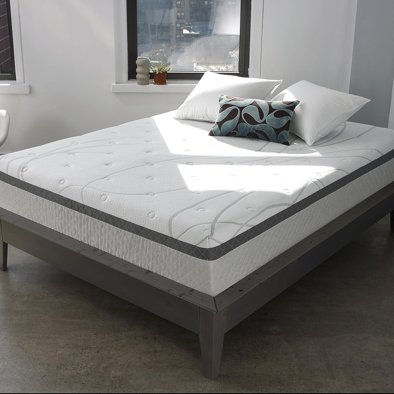 amazon com sleep innovations skylar 12 inch gel memory foam