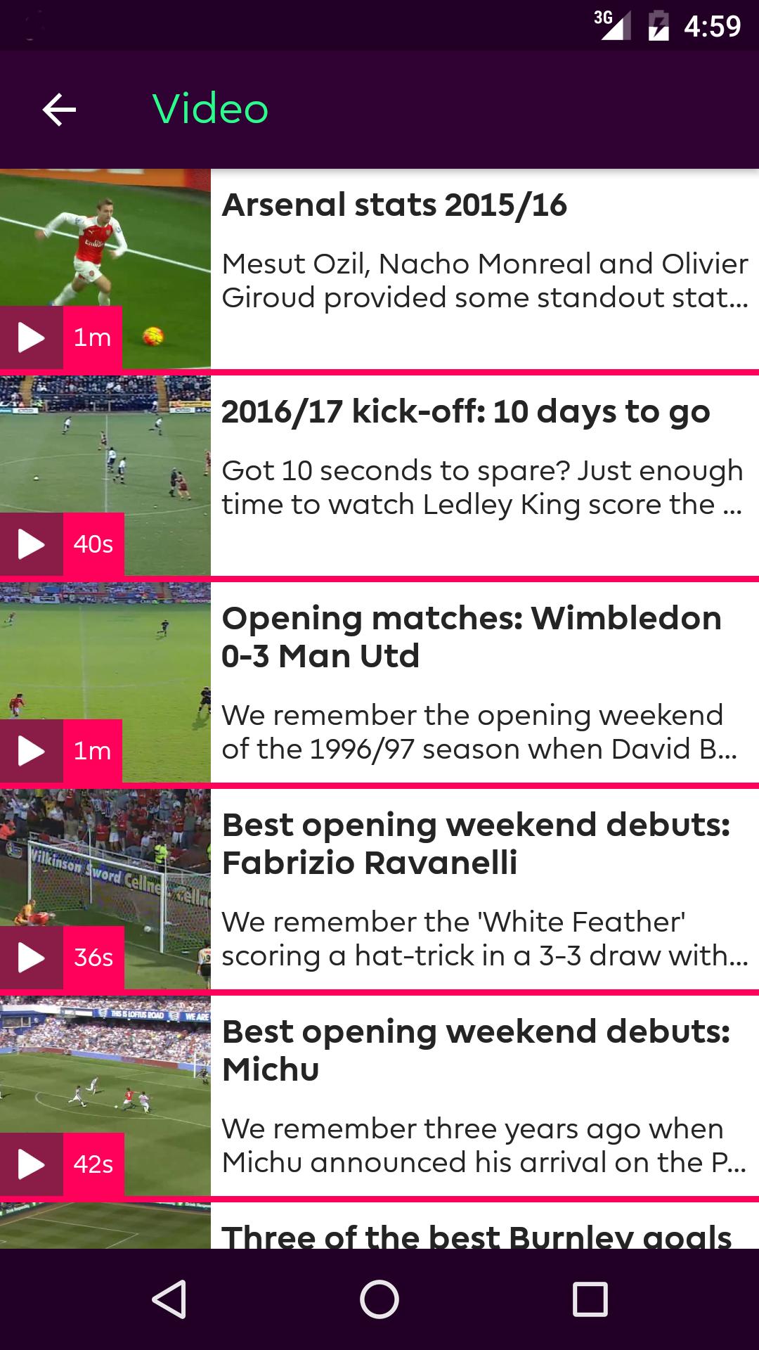 Premier League - Official App - Import It All