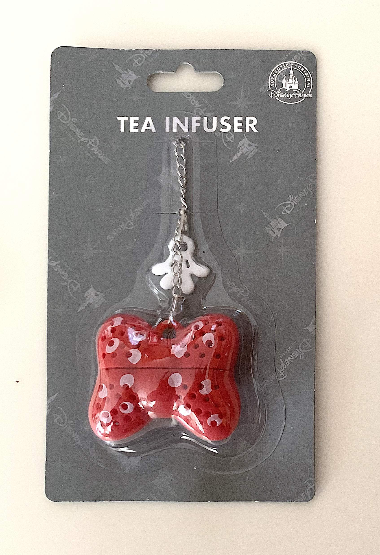 Disney Parks Minnie Mouse Bow Tea Infuser
