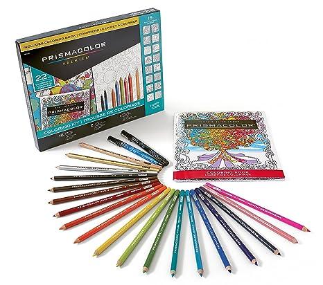 Amazon.com: Prismacolor Premier Coloring Kit with Colored Pencils ...