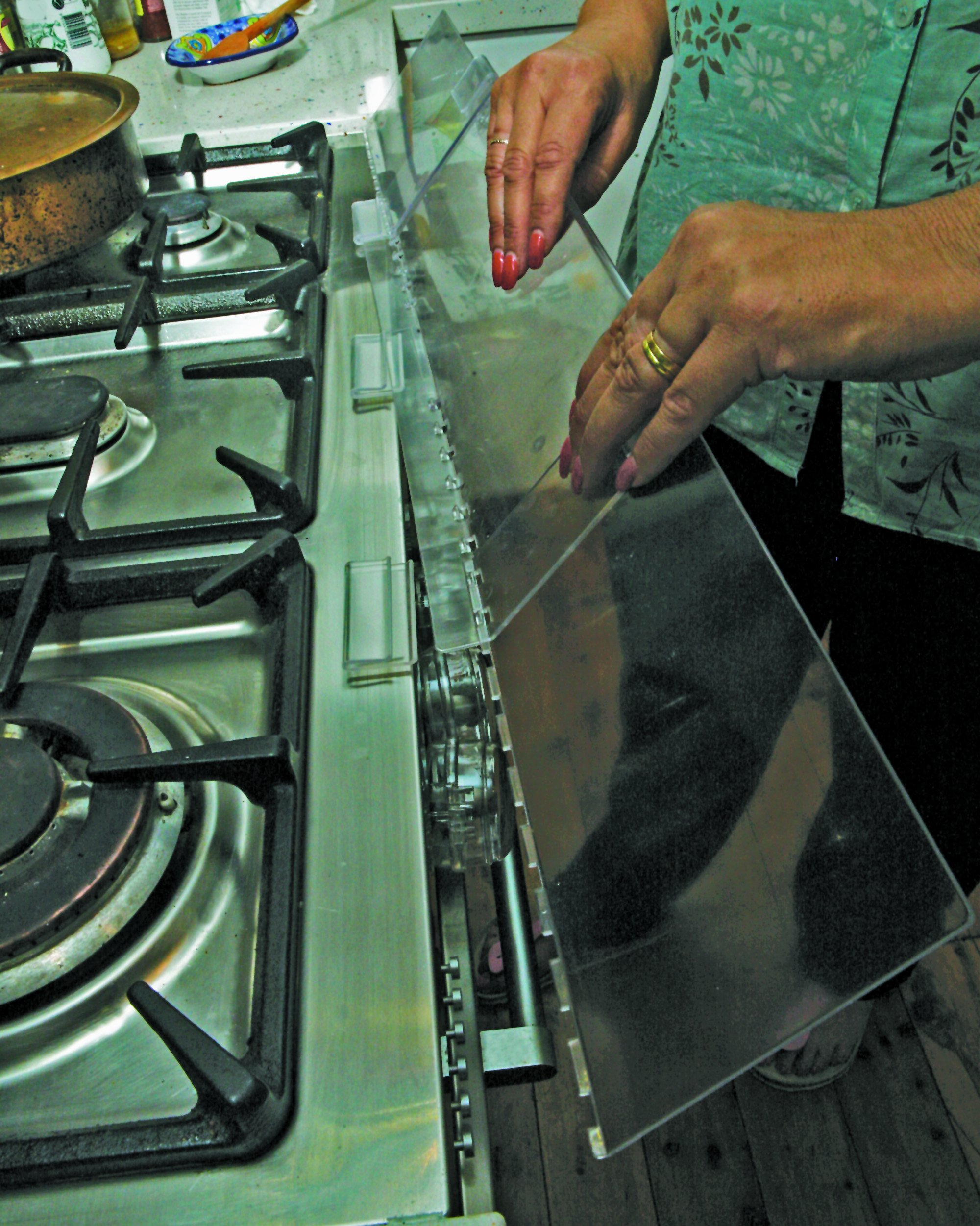 Dreambaby Stove Top Guard (Transparent) by Dreambaby (Image #4)