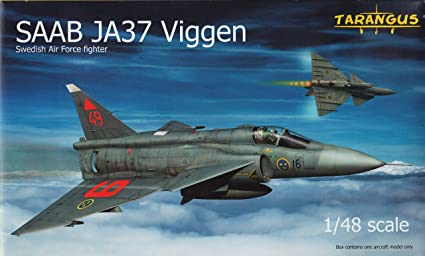 Amazon.com: tarta4803 1: 48 tarangus Saab JA37 Viggen ...