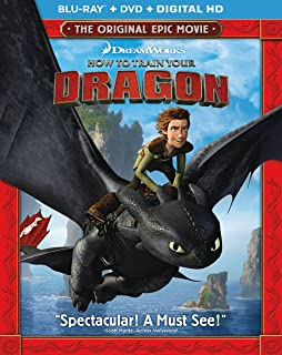 Amazon how to train your dragon two disc blu raydvd combo how to train your dragon blu ray dvd digital hd ccuart Image collections