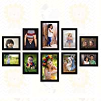 "Ajanta Royal Set of 10 Individual Photo Frames (4-4""x6"", 4-5""x7"", 2-6""x10"" inch) : A-91"