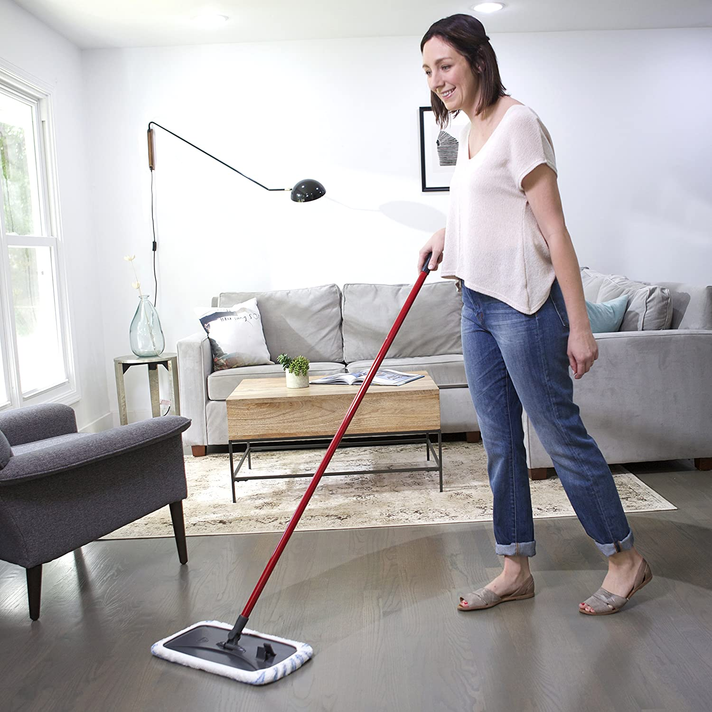 Mopping Kitchen Floor Amazoncom O Cedar Hardwood Floor N More Microfiber Mop Home