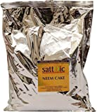 Satavic Farms Neem cake (Neem seed cake powder) with Neem Oil and high Azadirachtin content - natural fertiliser and pesticide (400 grams)