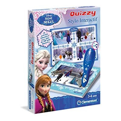 Clementoni 52089-Quizzy La Reine des Neiges-Jeu éducatif