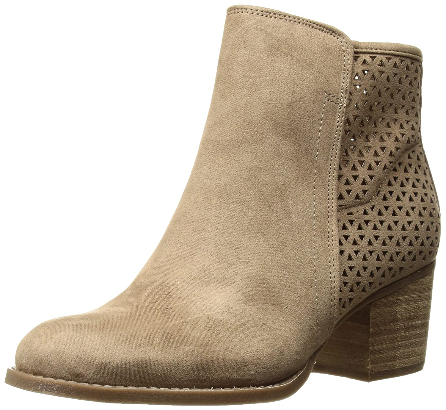 Madden Girl Women's Fayth Ankle Boot B073RVFB6Y 5.5 B(M) US|Sand