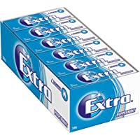 Extra Peppermint Sugarfree Chewing Gum, 10 Piece Pack (Pack of 24)