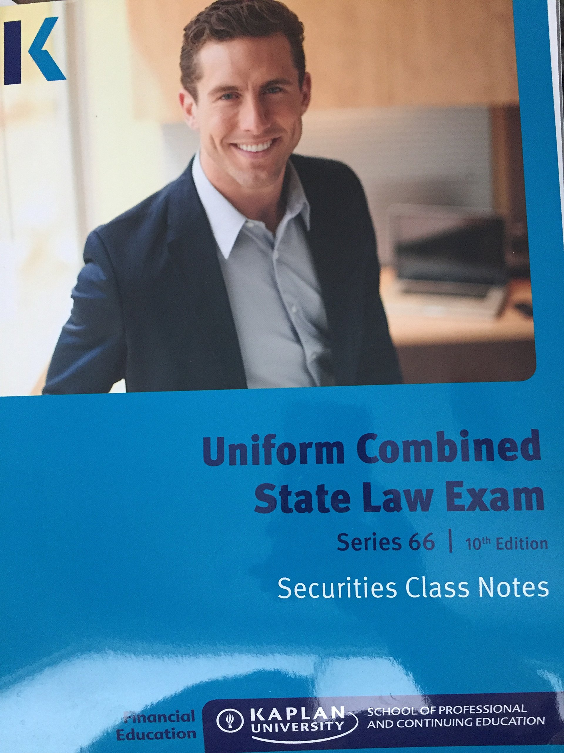 Download Uniform Combined State Law Exam Series 66 10th Edition Class Notes PDF